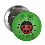 "IC Ladybug 2.25"" Button (10 pack)"