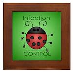 IC Ladybug Framed Tile