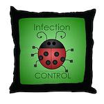 IC Ladybug Throw Pillow