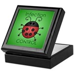 IC Ladybug Keepsake Box