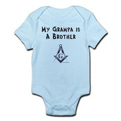 Grampa is a Brother Infant Bodysuit