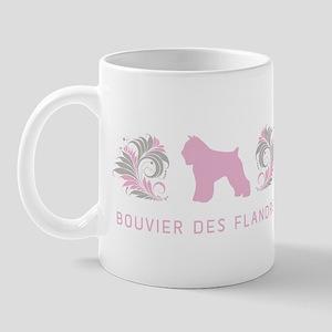 """""""Elegant"""" Bouvier des Flandres Mug"""