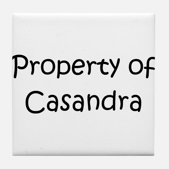 Cool Casandra Tile Coaster