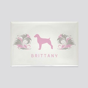 """Elegant"" Brittany Rectangle Magnet"