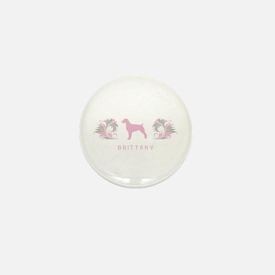 """""""Elegant"""" Brittany Mini Button"""