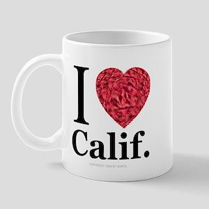I Love Calif. Mug