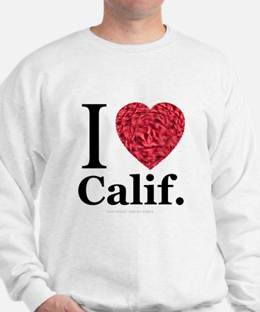 I Love Calif. Sweatshirt