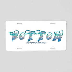 Bottom Aluminum License Plate