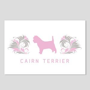 """""""Elegant"""" Cairn Terrier Postcards (Package of 8)"""
