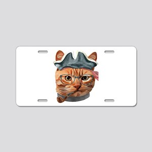Cat Kitty Kitten In Clothes Aluminum License Plate
