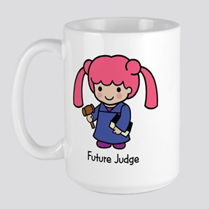 Future Judge - girl Large Mug