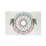 Dream Catcher Rectangle Magnet (100 pack)