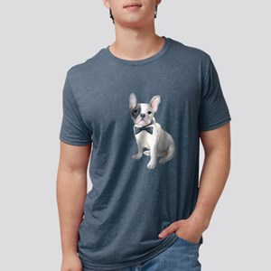 Frenchie French Bulldog black-bow-tie Dogs T-Shirt
