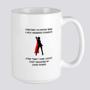 Counseling Superheroine Large Mug