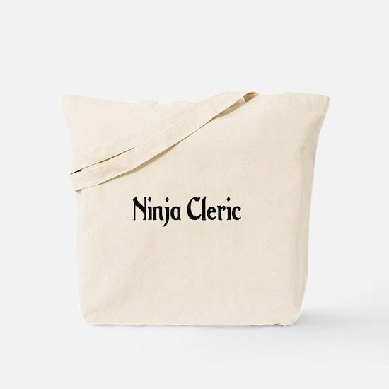 Ninja Cleric Tote Bag