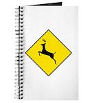 Deer Crossing Sign - Journal