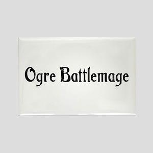 Ogre Battlemage Rectangle Magnet