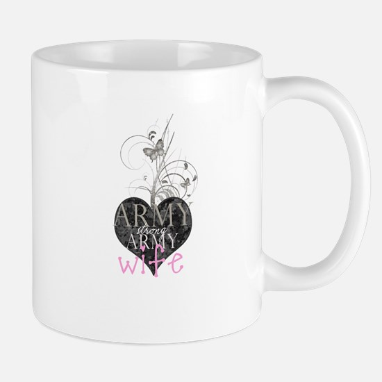 Army strong, Army wife (p) Mug