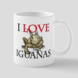I Love Iguanas Mug