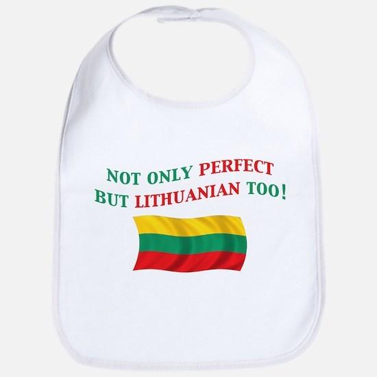 Perfect Lithuanian 2 Bib
