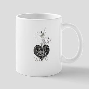Army strong, Army wife (tan) Mug