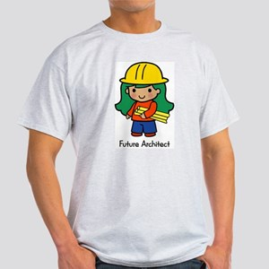 Future Architect - girl Ash Grey T-Shirt