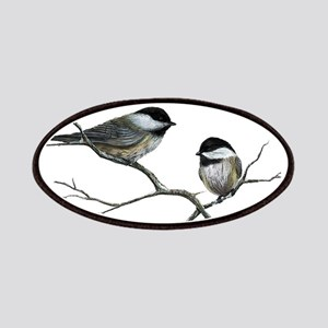 chickadee song birds Patch