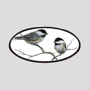chickadee song birds Patch
