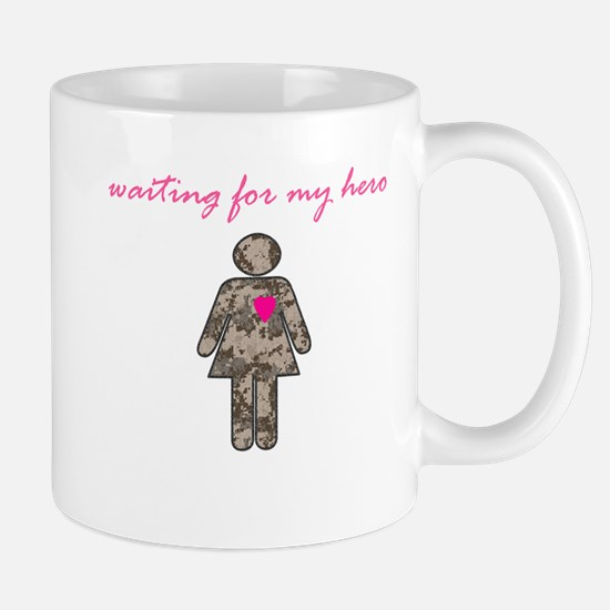 Waiting for my hero (camo) Mug