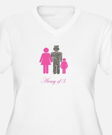 Army of 3 (baby girl) T-Shirt