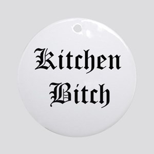 Kitchen Bitch Keepsake (Round)