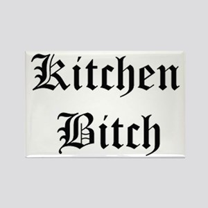 Kitchen Bitch Rectangle Magnet