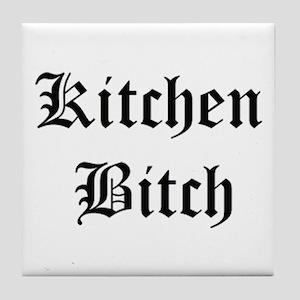 Kitchen Bitch Tile Coaster