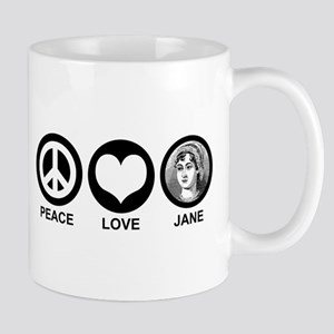 Peace Love Jane Mug