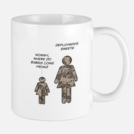Where do babies come from? (c Mug