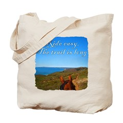 Ride easy trail horse Tote Bag
