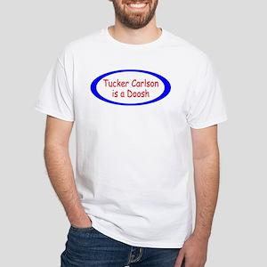 tucker carlson White T-Shirt
