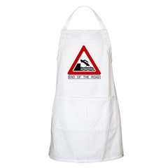Cliff - End of the Road BBQ Apron