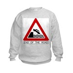 Cliff - End of the Road Kids Sweatshirt