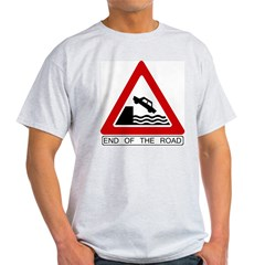 Cliff - End of the Road Ash Grey T-Shirt