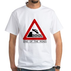 Cliff - End of the Road White T-Shirt