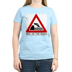 Cliff - End of the Road Women's Pink T-Shirt