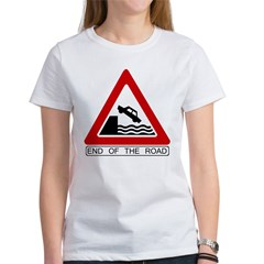 Cliff - End of the Road Women's T-Shirt