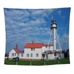 Whitefish Point Lighthouse Wall Tapestry