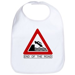 End of the Road sign - Bib