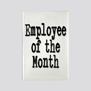 """""""Employee of the Month"""" Rectangle Magnet"""