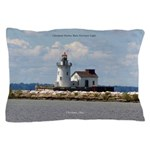 Cleveland Harbor Main Entrance Light Pillow Case