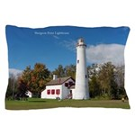Sturgeon Point Lighthouse Pillow Case