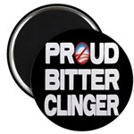 "Proud Bitter Clinger 2.25"" Magnet (100 pack)"