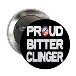 "Proud Bitter Clinger 2.25"" Button (100 pack)"